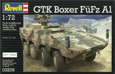 Plastikový model Revell GTK Boxer FüFz A1 1/72, 03209