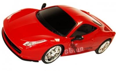 RC hračka auto na ovládanie Luxusne Ferrari EC-2080 červené