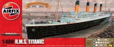 Plastikový model na lepenie RMS Titanic 100 výročie Giftset A50146, Airfix