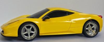 RC hračka auto na ovládanie Luxusne Ferrari EC-2080 žlté