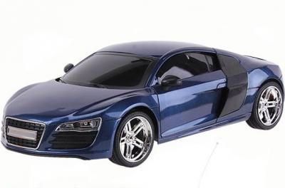 RC hračka, auto na ovládanie Luxusne Audi R8 EC-2080 modré