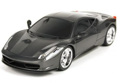 RC hračka auto na ovládanie Luxusne Ferrari EC-2080 sivé