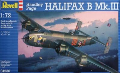 Plastikový model Revell Handley Page Halifax Mk.III 1/72, 04936