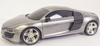 RC hračka, auto na ovládanie Luxusne Audi R8 EC-2080 sivé