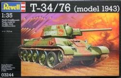 Plastikový model Revell T-34/76 1/35, 03244