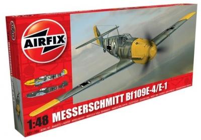 Plastikový model na lepenie Airfix Messerschmitt Bf109E-4/E-1, 1:48, A05120A