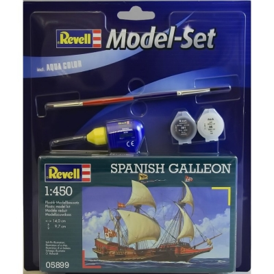 Plastový model Revell Spanish Galleon ModelSet, 65899
