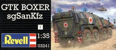 Plastikový model Revell GTK Boxer sgSanKfz 1/35, 03241