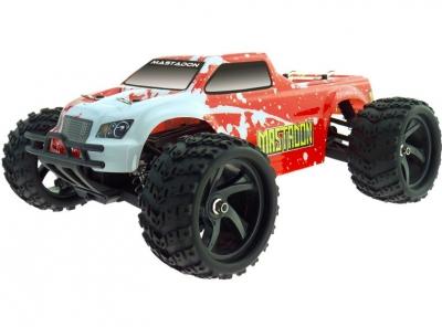 RC auto na ovládanie Himoto E18MT Mastadon Monster Truck 4WD 2.4 Ghz, červené