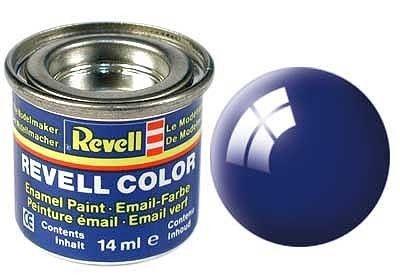 Email color 51 Ultramarine modrá lesk – Revell 32151