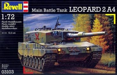 Plastikový model Revell Leopard 2 A4 1/72, 03103