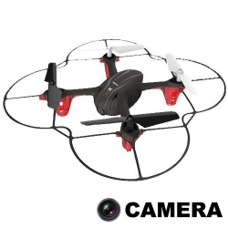 RC dron na ovládanie Syma X11c, HD kamera 2MP, 4CH 2,4GHz, čierná