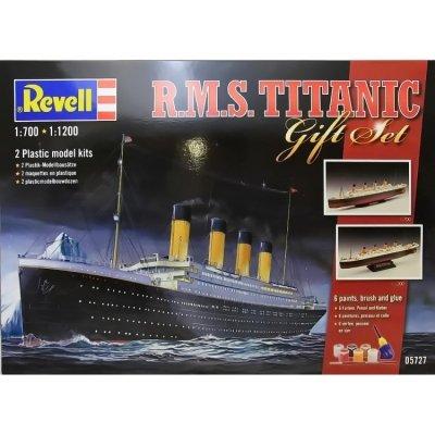 Plastový model Revell Gift-Set Titanic 1/700 a 1/1200, 05727