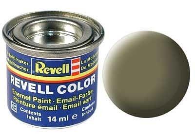 Email color 45 Svetlo olivová matt – Revell 32145