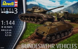 Plastikový model Revell Bundeswehr vehicles (6 vozidlá) 1/144, 03351