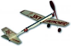 Sky Launcher gumáčik s parašutistom 432mm