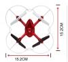 RC dron na diaľkové ovládanie Syma X11, 4CH 2,4GHz, čierná