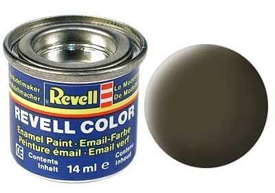 Email color 40 Čierno zelená matt – Revell 32140