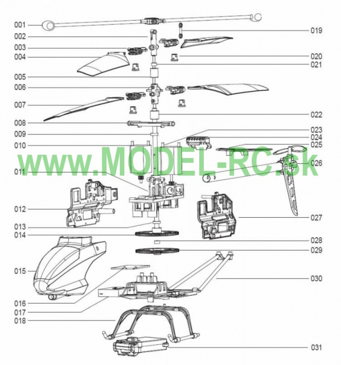 Servisny manuál MJX T41C, T41, T641, T641C, T-41, T-41C