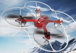 RC dron na diaľkové ovládanie Syma X11, 4CH 2,4GHz, červená