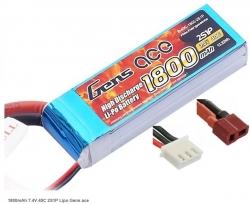 Náhradná batéria LiPo 1800mAh 7.4V 40C Gens Ace