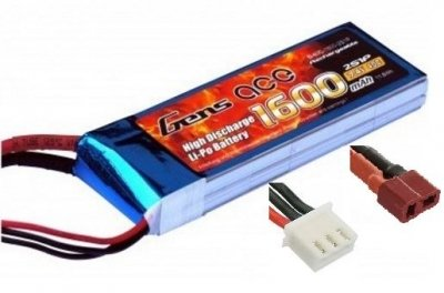 Náhradná batéria LiPo 1600mAh 7.4V 40C Gens Ace