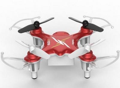 RC drony na ovládanie Syma X12S nano, 2,4GHz, 6 axis gyro, červená