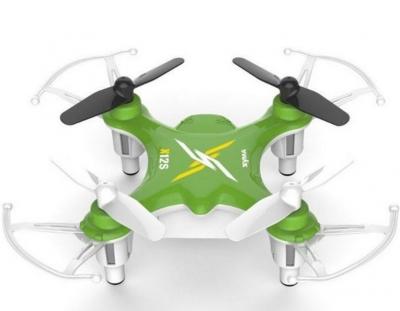 RC drony na ovládanie Syma X12S nano, 4 CH 2,4GHz, 6 axis gyro, zelená