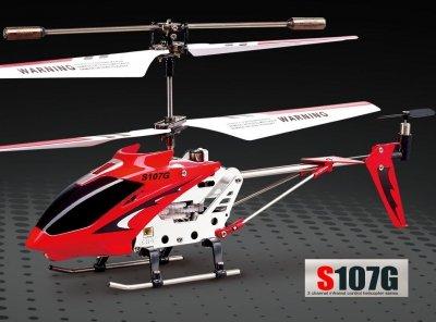 RC vrtuľník Syma S107G, červený