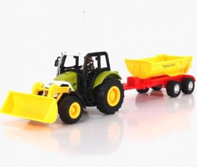 RC hračka Traktor s prívesom na diaľkové ovládanie wl-3010