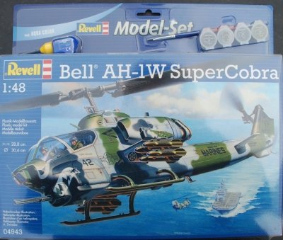 Plastový model AH-1W SuperCobra Model Set 1/48, 64943