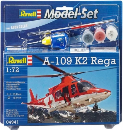 Plastový model Agusta A-109 K2 Model set 1/72, 64941