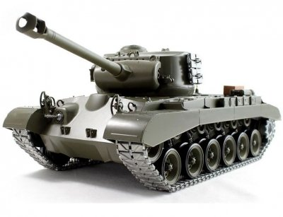 RC tank na diaľkové ovládanie Snow Leopard, kovové pásy, 1:16, airsoft