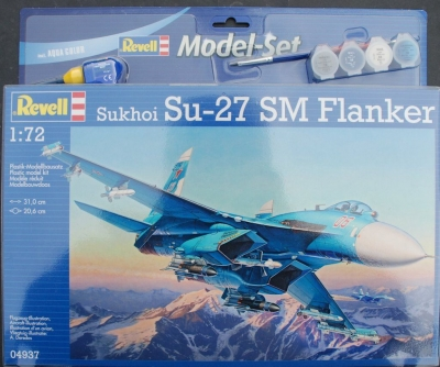 Plastový model Revell Su-27SM Model Set 1/72, 64937