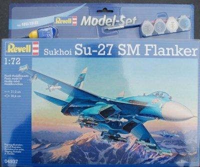 Plastový model Revell Su-27SM Model Set 1/72, 64937