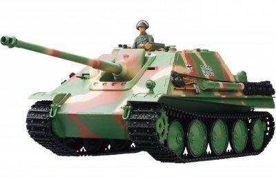 RC tank na ovládanie JAGDPANTHER Late Version 1:16, dymové efekty, airsoft