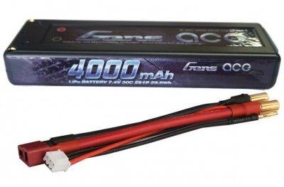 Náhradná batéria Gens Ace LiPo 4000mAh 7.4V 30C HardCase