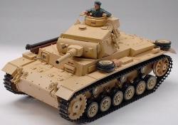 RC tank na diaľkové ovládanie Tauch PANZER III Ausf. H, 1:16, airsoft