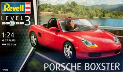 Plastový model na lepenie Revell Porsche Boxster 1/24, 07690