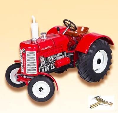 KOVAP Traktor ZETOR 50 SUPER červený, hračka