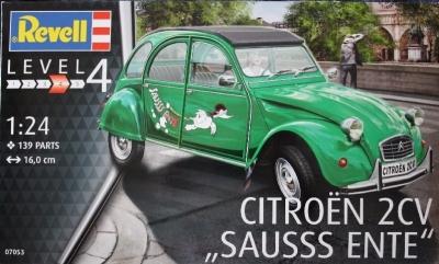 Plastový model na lepenie Revell Citroën 2CV Sausss Ente, 07053