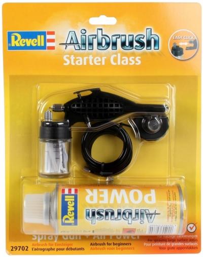 Striekacia pištoľ Revell Starter Class + fľaša 29702