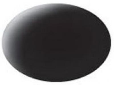 Aqua color 08 Čierna matná – Revell 36108