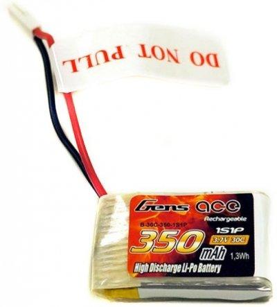 Náhradná batéria LiPo 350mAh 3.7V 30C Gens Ace