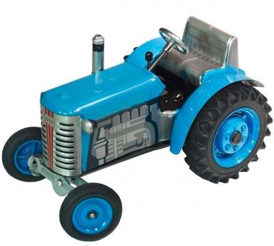 KOVAP Traktor Zetor modrý, hračka