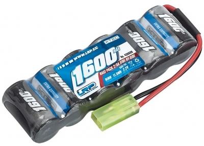 Batéria LRP 1600mAh 7,2V NiMH 2/3A XTEC Race pack