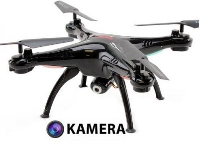 RC dron Syma X5SC EXPLORERS 2 s HD kamerou 2MP, 2,4GHz čierná