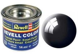 Email color 07 Čierna lesk – Revell 32107