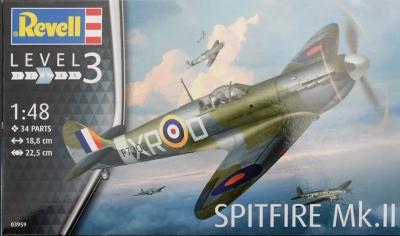 Plastikový model Revell Spitfire Mk. II, 03959