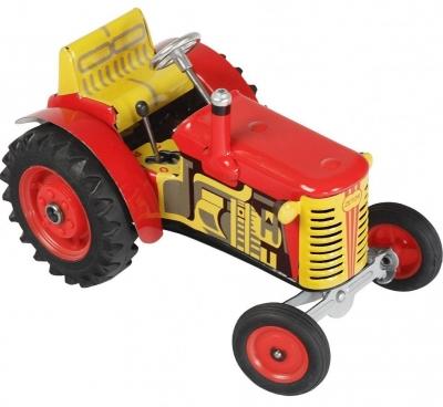 KOVAP Traktor Zetor červený, hračka